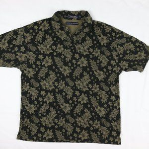 Tommy Hilfiger Floral Pineapple Henley Polo